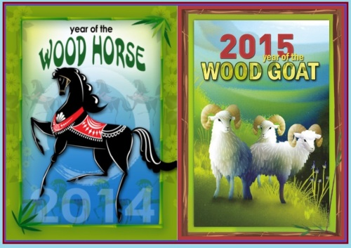 Year of the Horse transitions To Year of the Goat